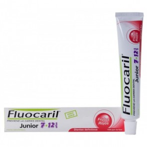 FLUOCARIL JUNIOR 7-12 AÑOS PASTA  50 ML FRUTOS ROJOS