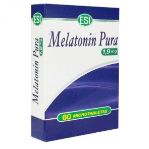 MELATONIN PURA  1.9 MG 60 TABLETAS