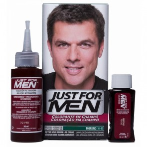 JUST FOR MEN CHAMPU COLORANTE 66 CC MORENO