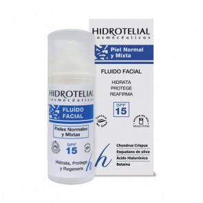 HIDROTELIAL HIDRATIA PIEL NORMAL/ MIXTA FLUIDO FACIAL HIDRATANTE 50 ML