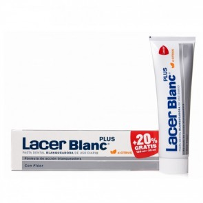 LACERBLANC PLUS BLANQUEADORA USO DIARIO PASTA DENTAL D- CITRUS 125 ML