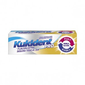 KUKIDENT PRO DOBLE ACCION CREMA ADH PROTESIS DENTAL NEUTRO 40 G